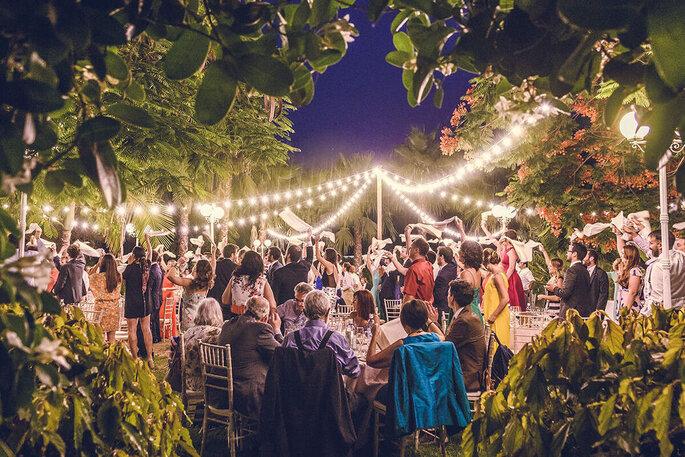 Jardines del Trapiche finca bodas Málaga