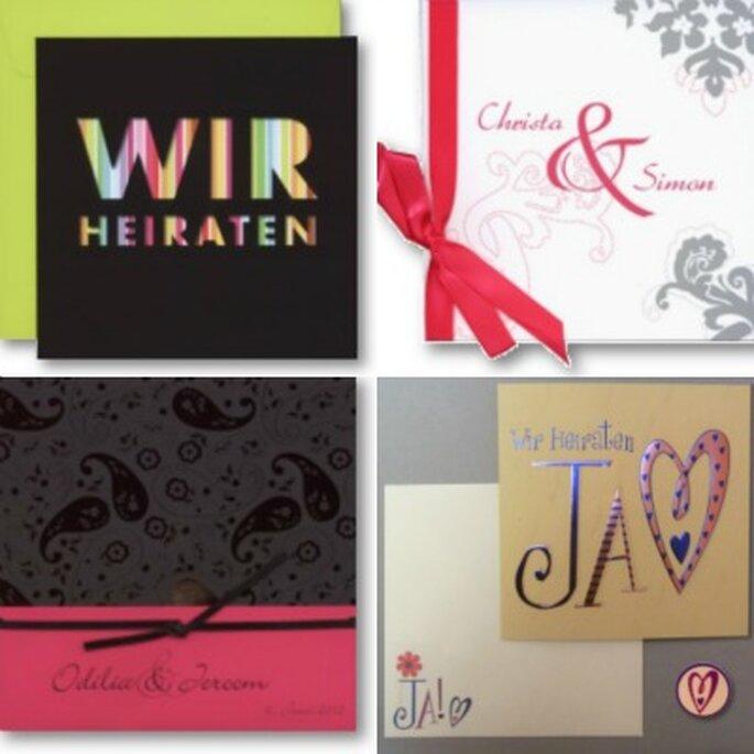 Einladungskarten für die Hochzeit Foto: tollekarten.de