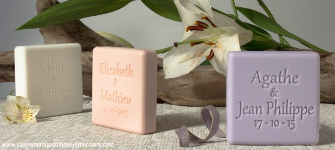 Offrez un cadeau d invité original et raffiné   des savons ... be13134718b