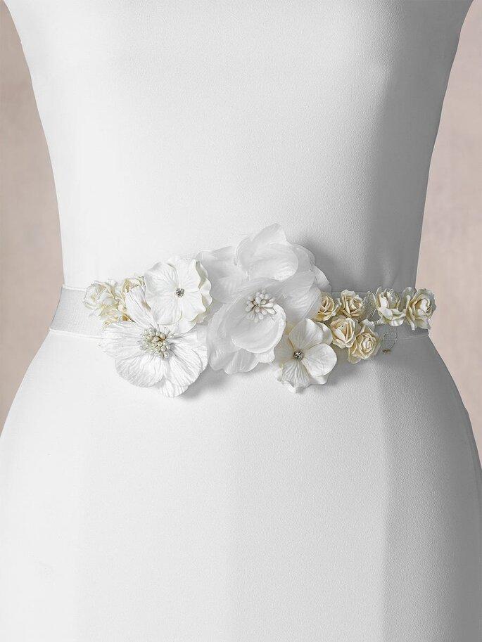 cinturon boda flores