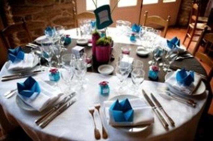 Décoration de table de mariage : veillez à l'harmonie