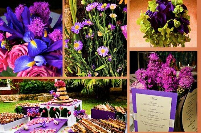 Decoración de boda. Fotografía Jaime Glez