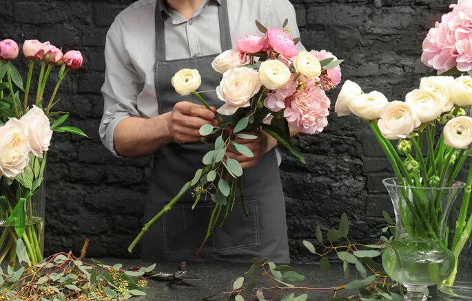 Flores de regalo por el día de la madre