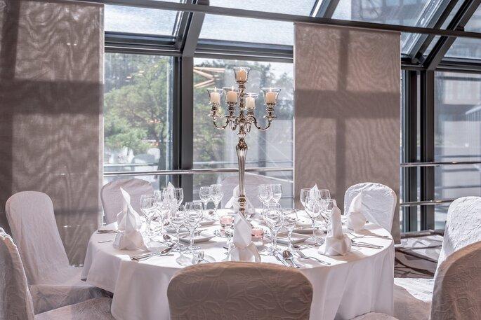 Zürich Marriott Hotel Hochzeitstische