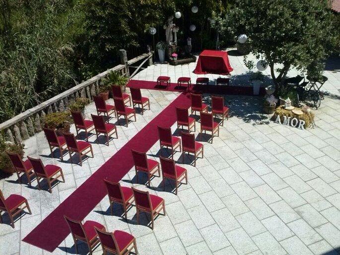 Casa Videira masía bodas Pontevedra