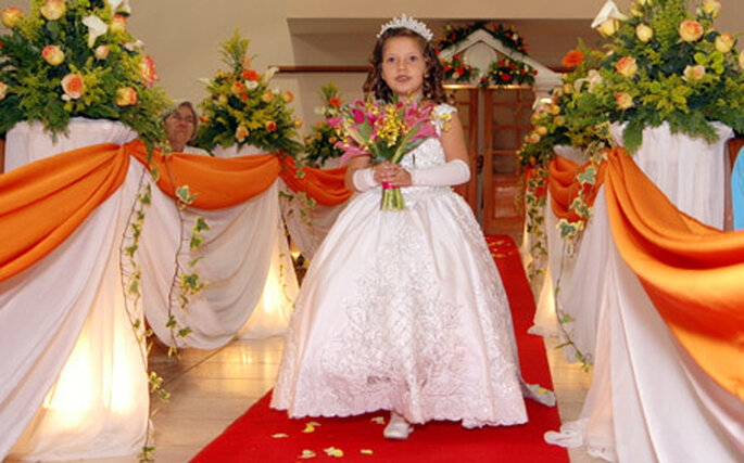 Si votre mariage est le seul de la journée, la décoration de l'église pourra être plus élaborée