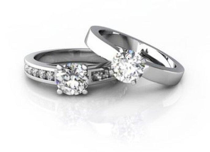 Trauringe mit Diamanten - Foto: www.diamant-ringe.ch