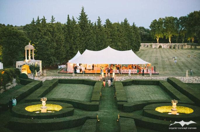 Cover Events - Tente de réception pour mariage - Alpes-Maritimes et Cannes(06)