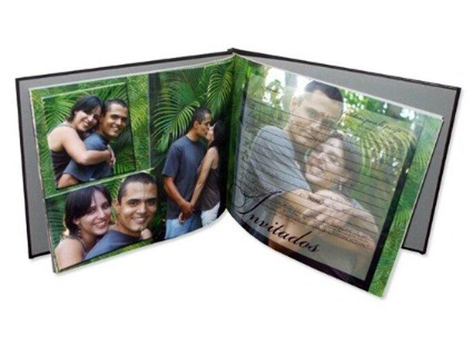 Se convierte en un grato recuerdo preparar el libro de invitados a la boda