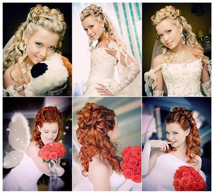 Brautfrisuren hochzeitsfrisuren locken 2011 brautfrisuren bilder net