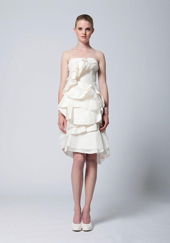 Kurzes Hochzeitskleid Modell Ruri von kisui - Foto:kisui.de