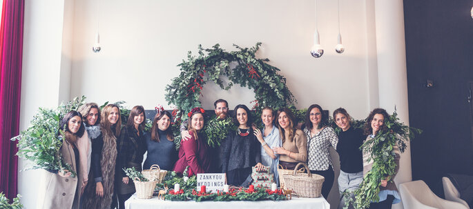 II Breakfast Wedding Club (Christmas Edition). Foto Elena Bau Fotografía