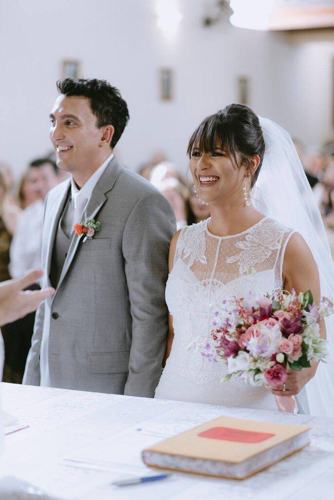 Felicidade noivos