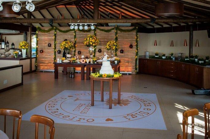 Espaço completo para receber o seu casamento