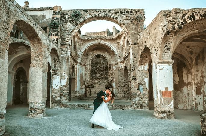 Marito e moglie scatto ricordo