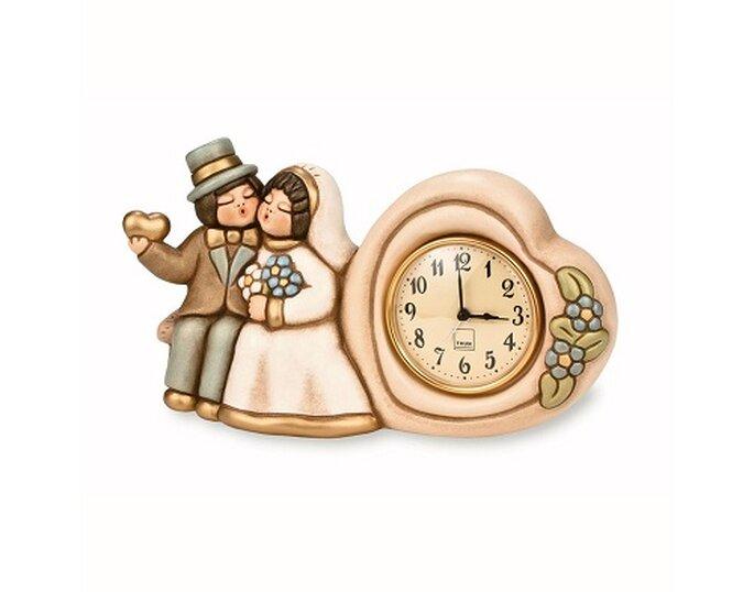 La sveglia degli sposini Thun per scandire le ore dell'amore. Foto: it.thun.com