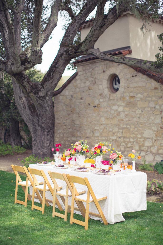15 id es tr s ing nieuses pour votre mariage en plein air. Black Bedroom Furniture Sets. Home Design Ideas