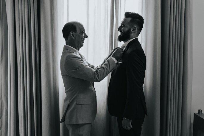 Traje do noivo: Maxime Noivos e Black Tie - Foto: Matheus Brito Wedding & Lifestyle