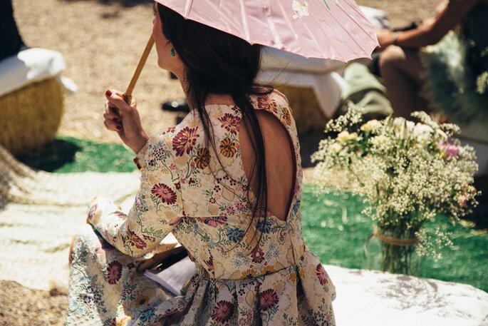 Vestido: Raquel Ferreiro | Foto: A&Y