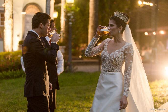 noivos festa casamento