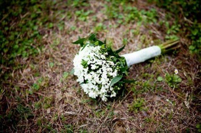 Der Brautstrauss kann auch grün gestaltet sein- Foto: Chema Naranjo