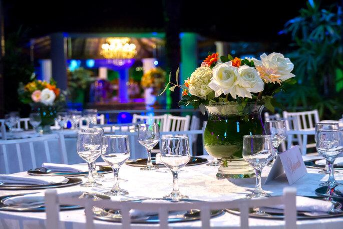 linda decoração clássica para casamento