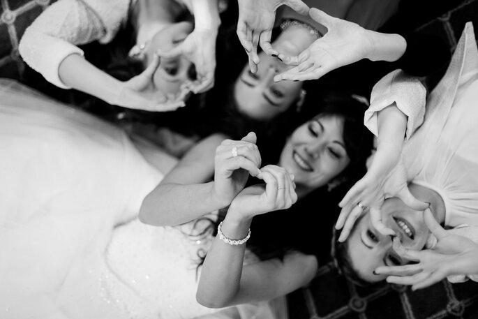 mariage amitié meilleure amie mariée