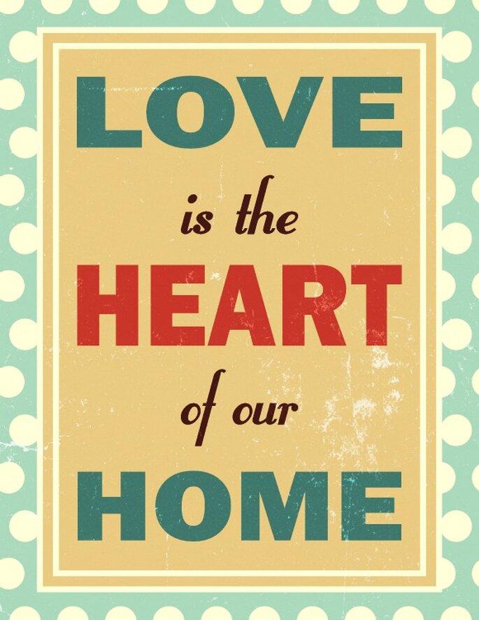 10 mensajes de amor para decorar tu boda - Foto Shutterstock