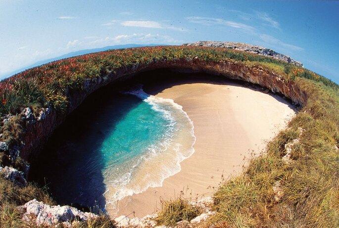 """Islas Marietas, playa escondida """"el amor"""""""