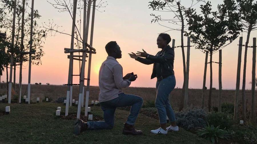 We're getting married! Hubert and Thembeka