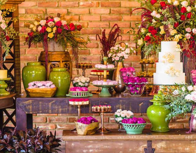 Aluguel de móveis e materiais para casamentos Ceará