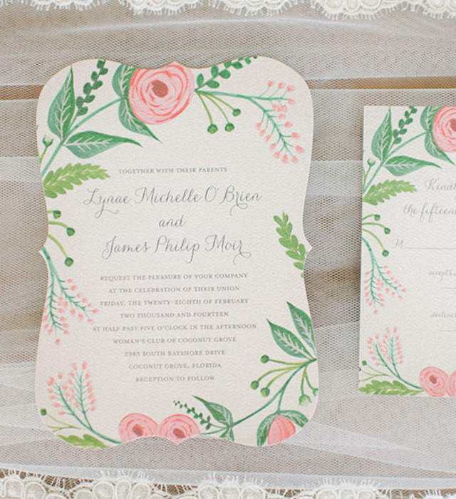 Wedding Invitations in California