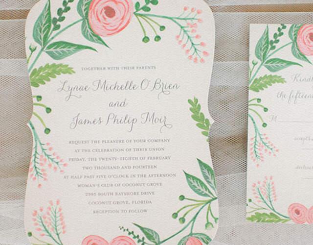 Invitaciones de boda en Pontevedra