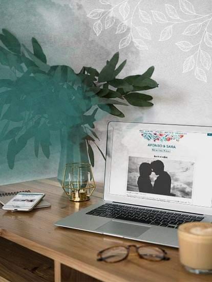 Crie grátis o seu site de casamento em 2 clicks