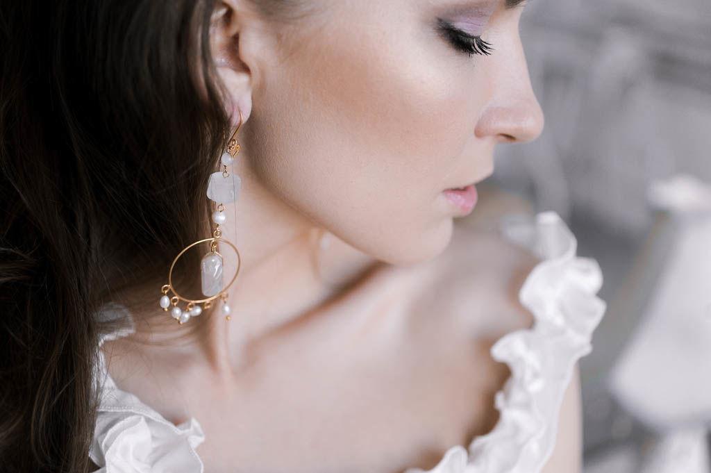 trucco e acconciatura sposa, sposa elegante, smokey eyes, trucco e  idee capelli raccolti, semi raccolti,, trecce, www.matrimoniomakeup.it