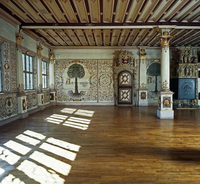 Beispiel: Der Goldene Saal, Foto: Schloss Urach.