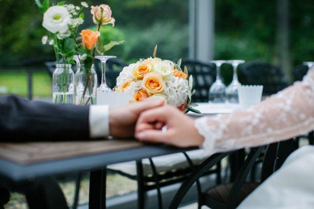 Beispiel: Brautrauß, Foto: Monique Lebahn.