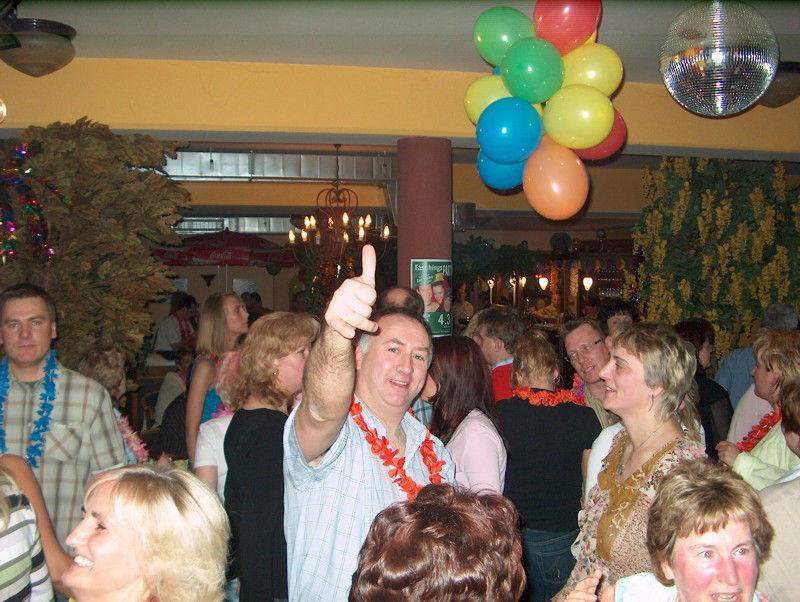 Beispiel: Partystimmung , Foto: DJ Bernd Niemann.