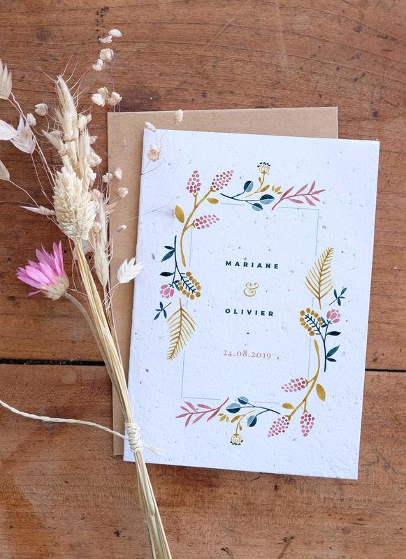 Growingpaper - papier ensemencé