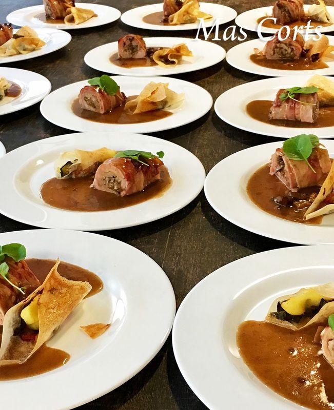 Banquete de boda en Mas Corts