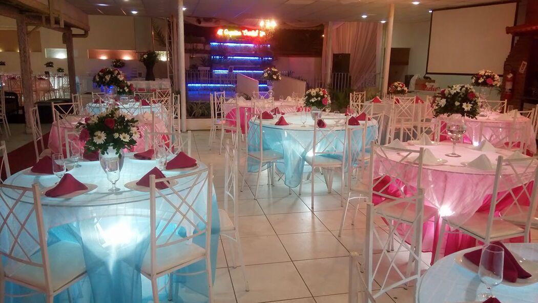 Casa de Festas Orquídea Cristal