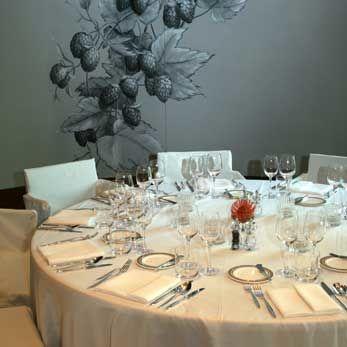 Beispiel: Tischdekoration, Foto: The Charles Hotel.