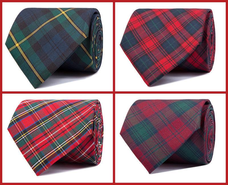 Corbatas escocesas
