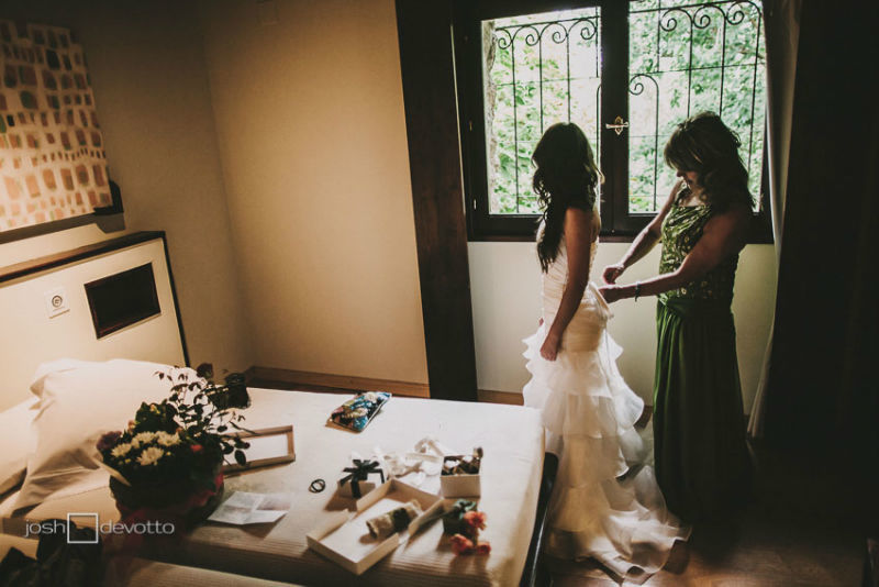 Josh Devotto, fotografo de bodas, boda vintage