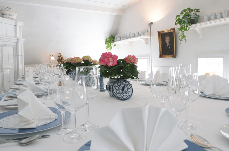 Beispiel: Tischdekoration, Foto: Jürgenshof.