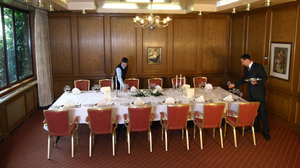 Beispiel: Bankettraum, Foto: Hotel Rheingold.