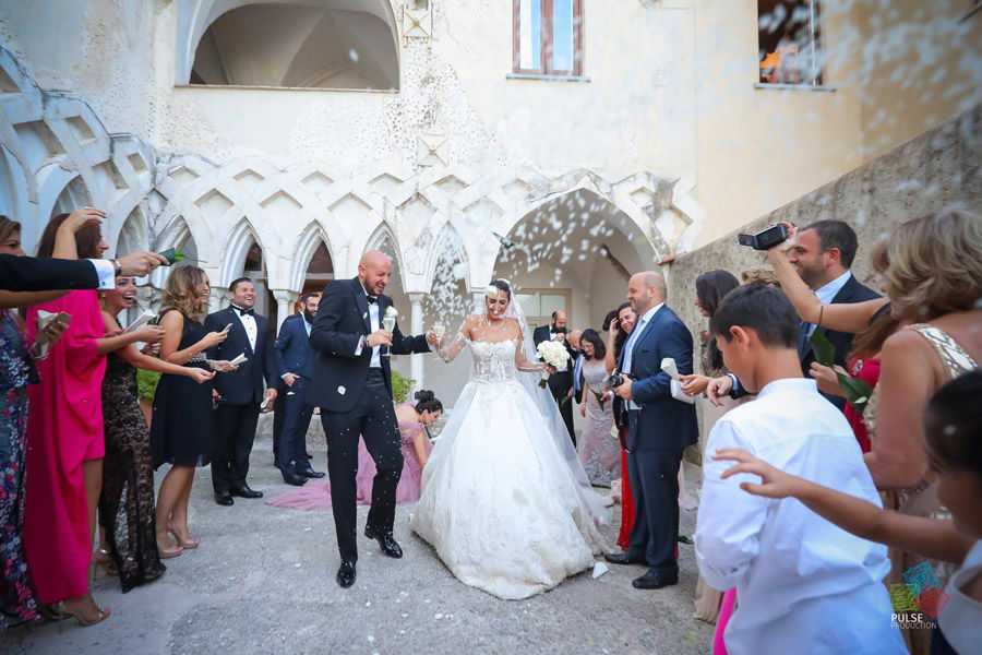 Lebanese spectacular wedding in Amalfi