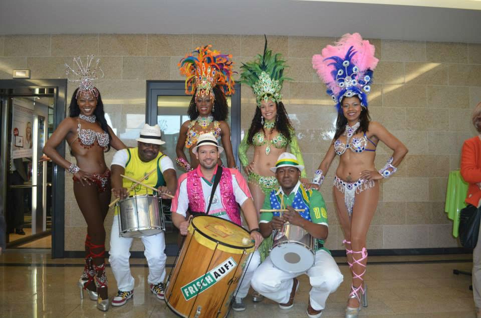 Beispiel:Samba Team, Foto: Brazuca Samba.