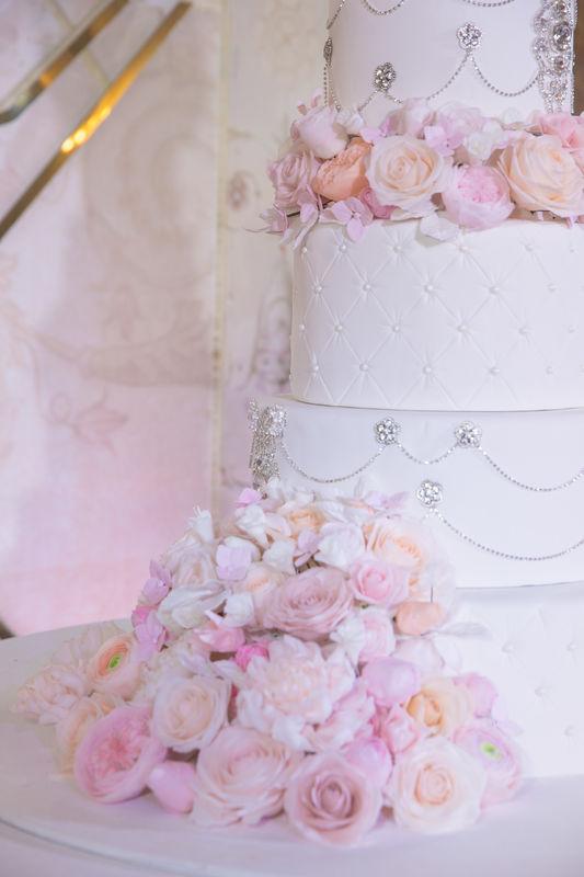 Элементы свадебного торта
