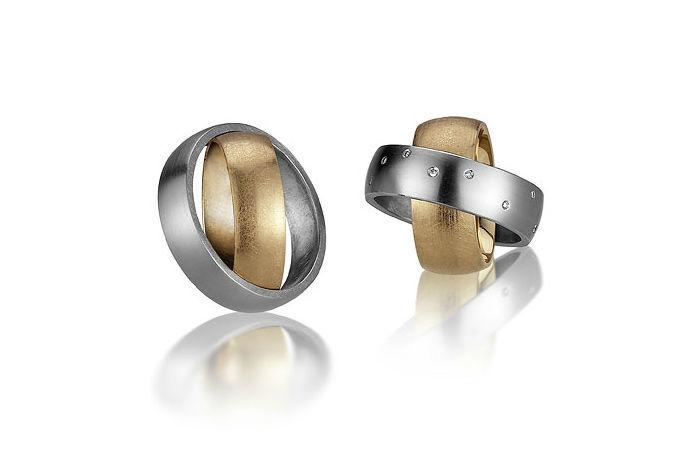 Beispiel: Partner-Ringe mit Stil, Foto: Bijoux Stadelmann.